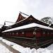 Back side of Main shrine by Hakutsugu