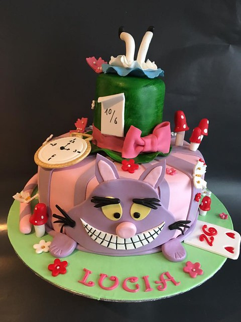 Alice in Wonderland Cake by Monja El-ezza