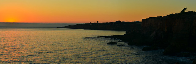 Cascais - Boca do Inferno & setting sun