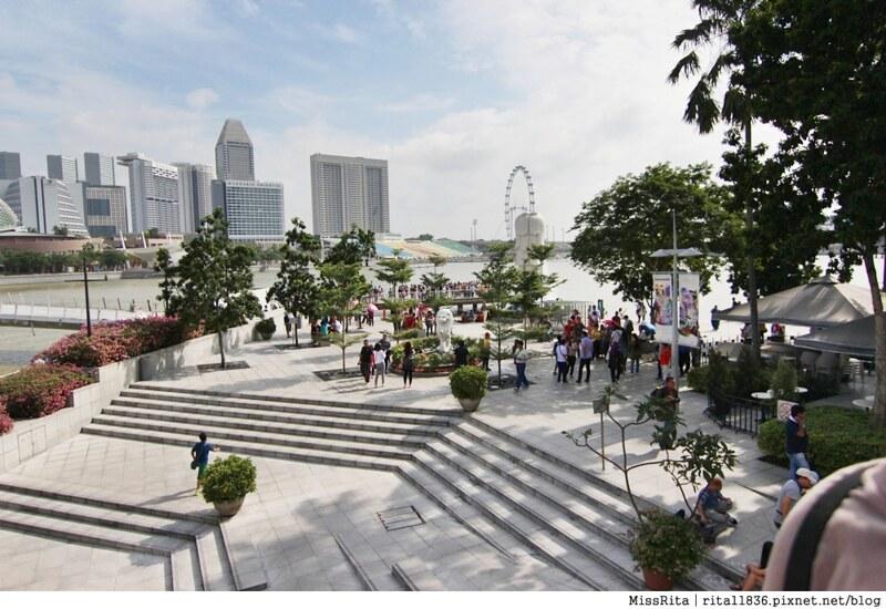 新加坡地標 新加坡好玩 魚尾獅公園 merlion park 新加坡地鐵9