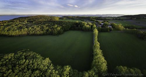 panorama norway landscape moss østfold alby jeløy multirotor multicopter