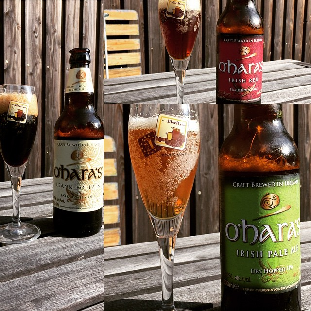#beeroftheday: #oharas #paleale #redale and #extrastout