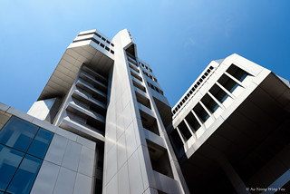 Singapore Power Building: Modern Brutalism 1