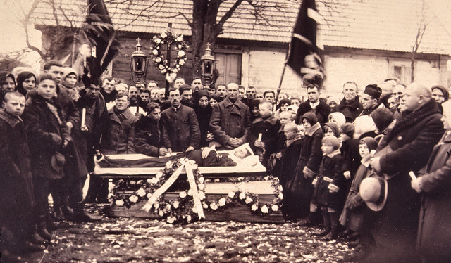 Funeral In Poland