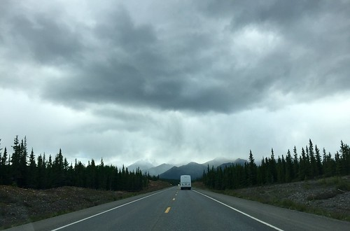 Driving to Denali