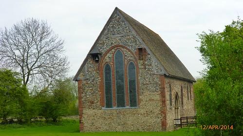 St. Nicholas' Chapel, Coggeshall, sideview