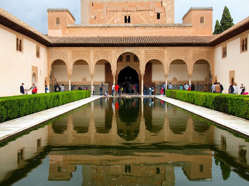 Court of the Myrtles in the Alhambra