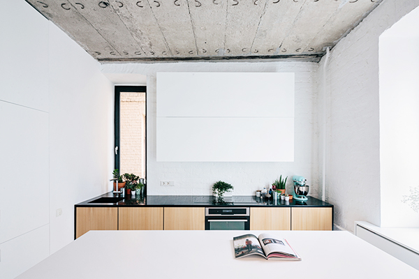 A Minimalist Apartment on Leningradsky Prospekt