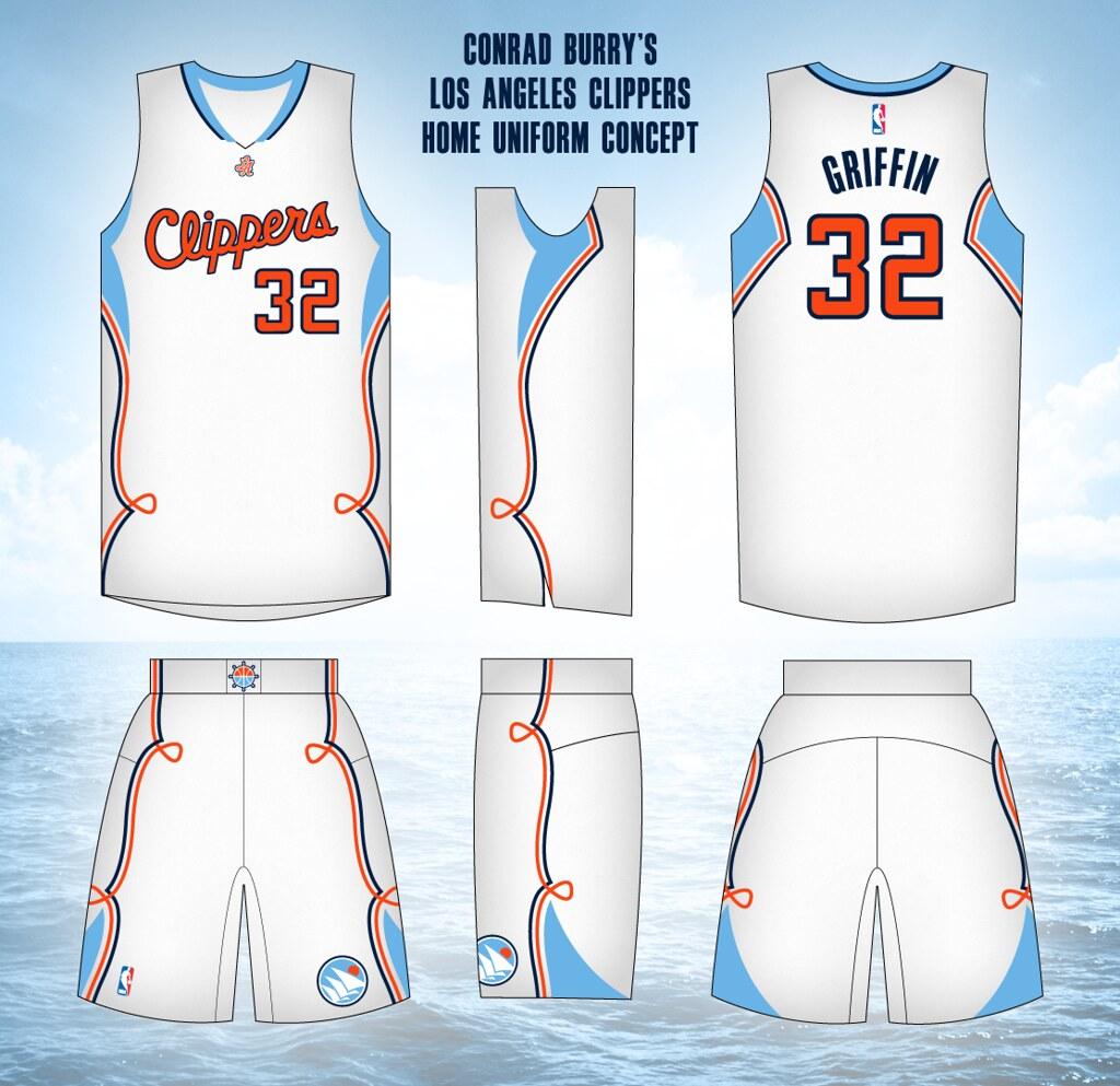 e3d6cbf0d Uni Watch - Los Angeles Clippers uniform redesign results