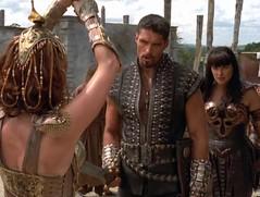 Афина, Арес и Зена