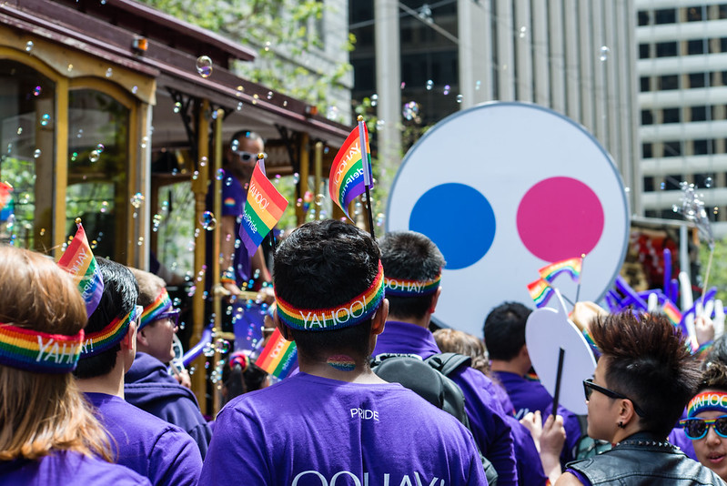 San Francisco Pride / Yahoo!
