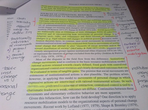 Summary and highlighting