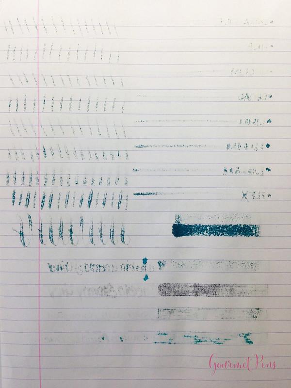 Ink Shot Review J. Herbin 1670 Emerald of Chivor @BureauDirect (3)