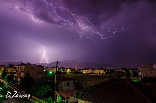 lighting longexposure light weather night nikon long exposure bad greece angry nikkor thunder 14mm samyang ptolemaida