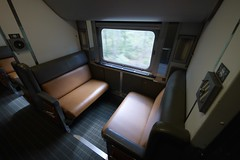 月, 2015-07-20 13:20 - The Canadian車内  The Canadian Vancouver-Jasper