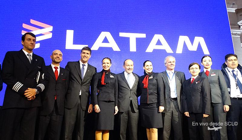 LATAM lanzamiento nueva marca en SCL (RD)