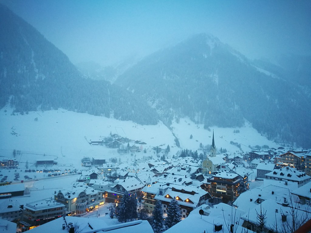 Winter at Ischgl