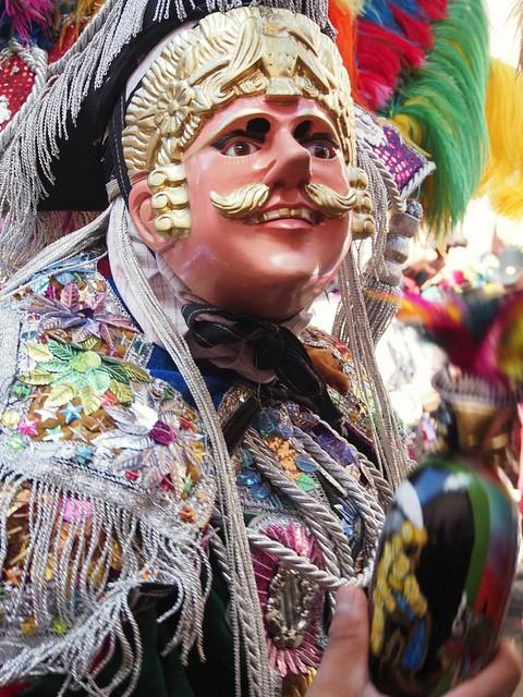 Danzante. Baile del Torito en Chichicastenango