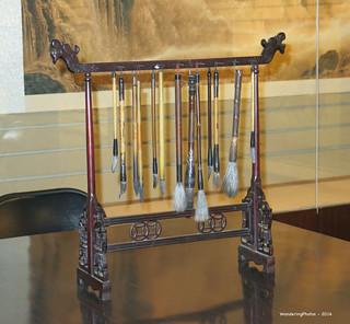 Chinese Calligraphy Brushes - Tangpo Museum Xi'An Shaanxi China