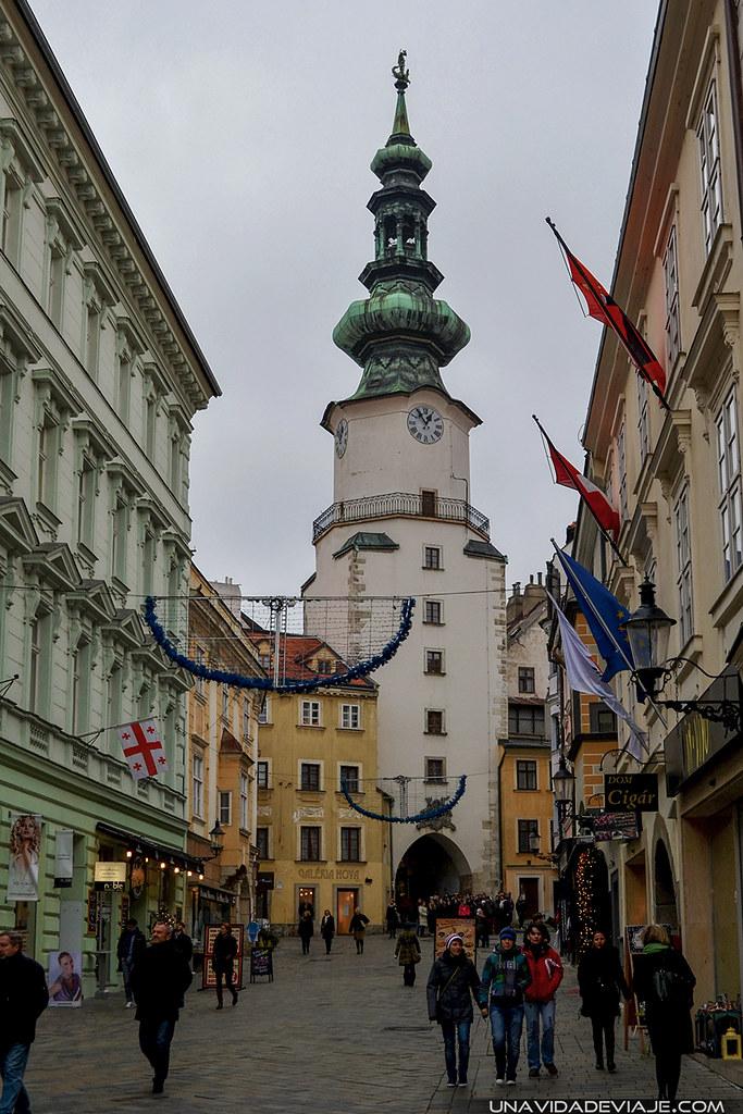 Bratislava Puerta San Miguel