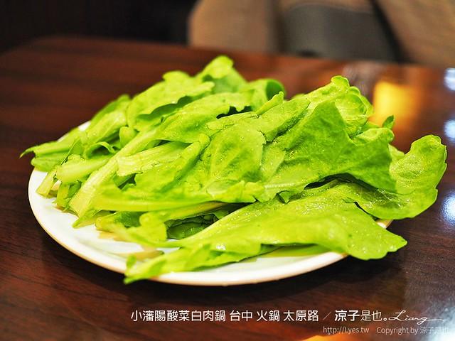 小瀋陽酸菜白肉鍋 台中 火鍋 太原路 3