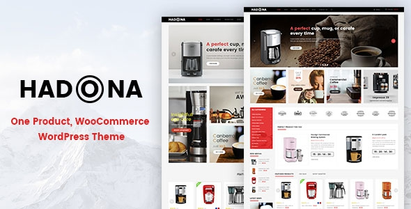 Hadona v1.0.0 - One Product, WooCommerce WordPress Theme