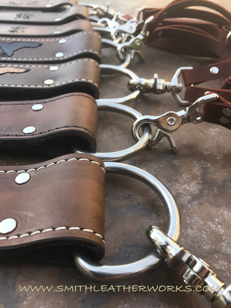Custom Padded Leather Duck Straps Smith Leatherworks Flickr