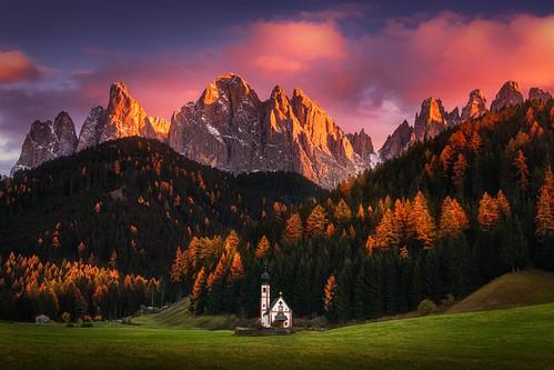 Autumn Faith por Albert Dros
