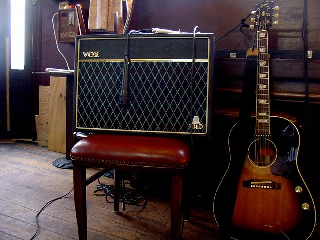 Photo:Vox and the Gibson By EverJean