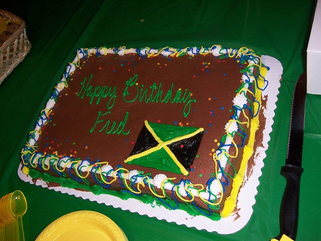 Jamaican Flag Cake Pan