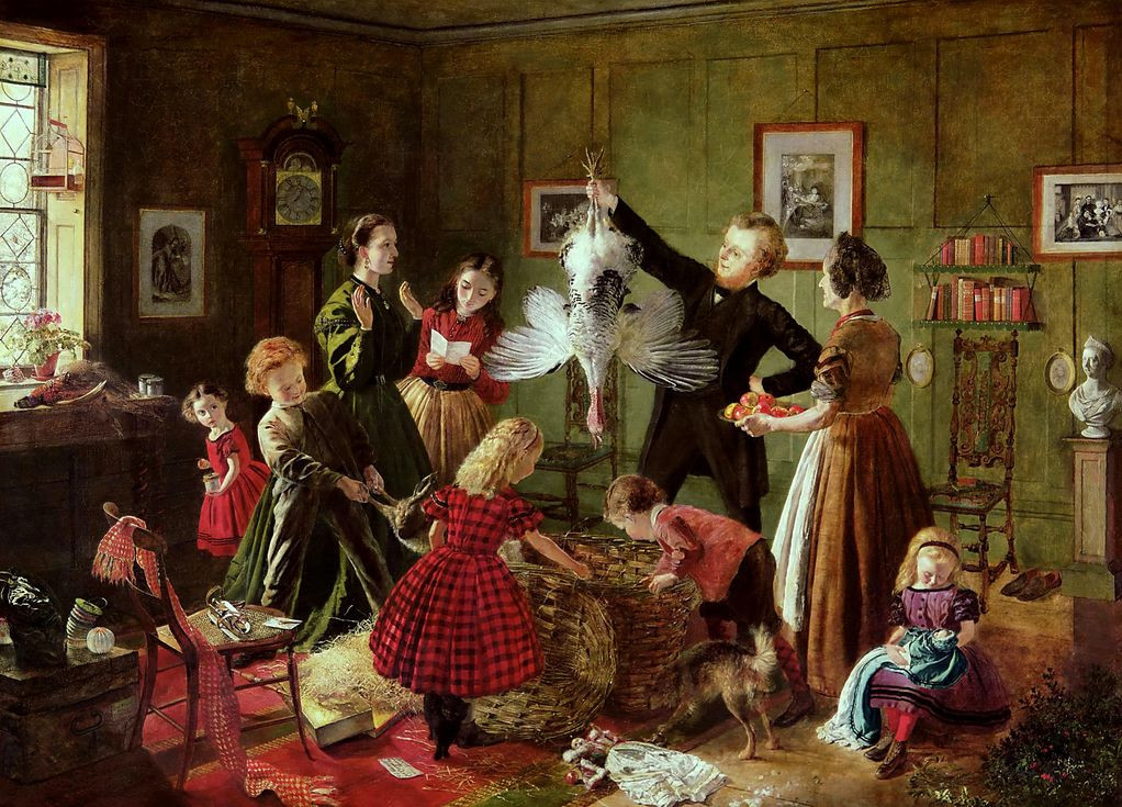 The Christmas Hamper by Robert Braithwaite Martineau