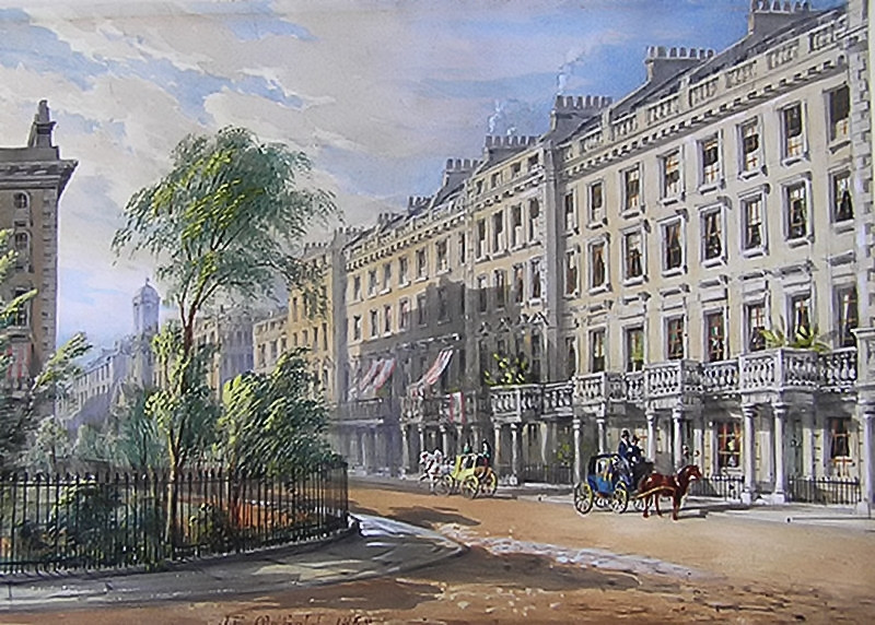 Chester Square, Belgravia, London by John Edwin Oldfield