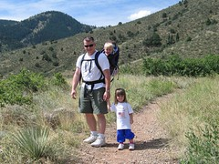Hiking at Red Rocks