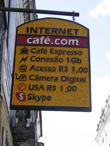 Internet mais rápida do Brasil.