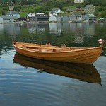 Boat from Hardanger Norway