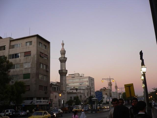 ダマスカスの夕暮れ Damascus in Sunset