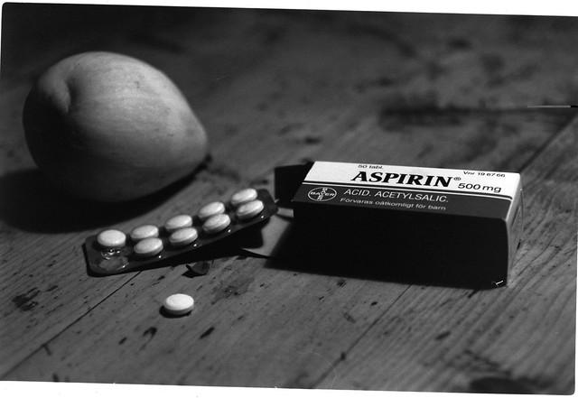 spectral analysis of aspirin blister pack