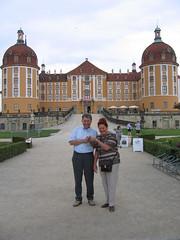 Friends at Schloß Moritzburg