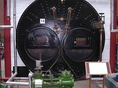 Lancashire Boiler front plate