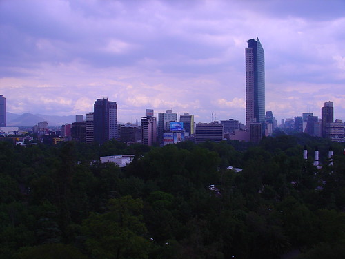 Mexico City, DF skyline