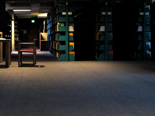 alone with books