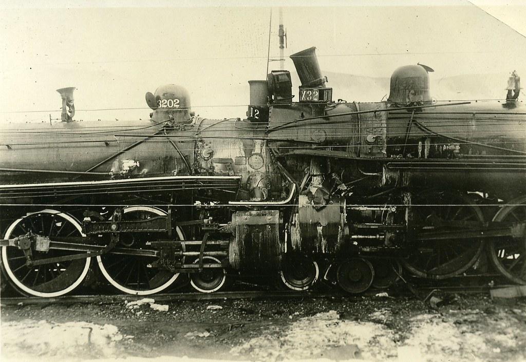 Train Wreck, Steam Locomotives
