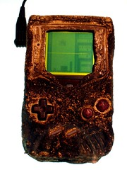 Game Boy damaged in Gulf War