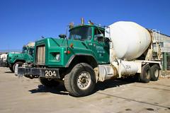 vehicle, truck, transport, concrete mixer, land vehicle,
