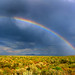 Rainbow in Harney County by lyzadanger