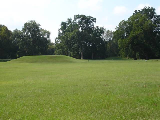 Mound, Grand Village of the Natchez Indians, Natchez MS