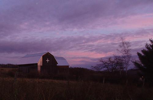sunset barn geotagged albaluminis scene monastery monastic mountsaviour