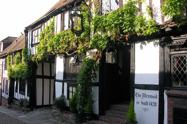 Mermaid Inn, Rye, East Sussex, 11 October 2005