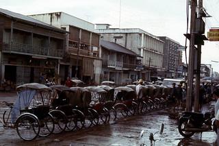 street after rain