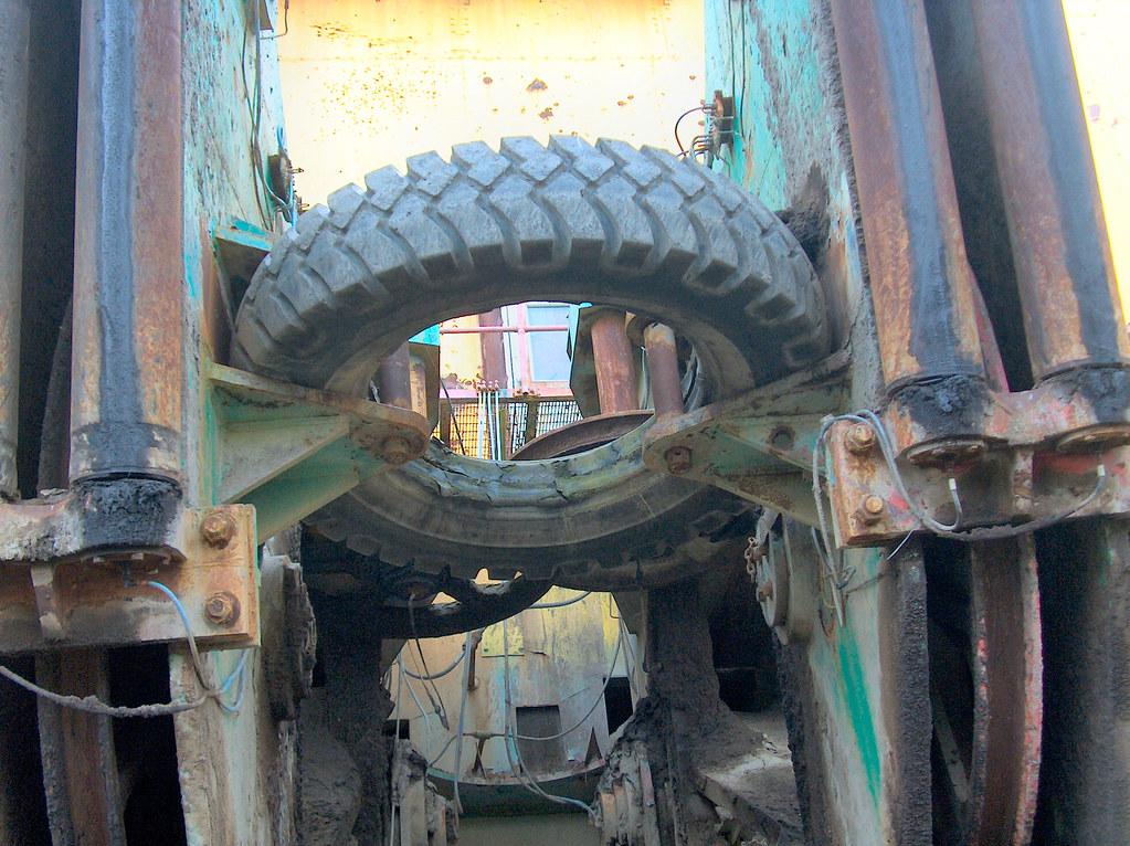 tires machine used